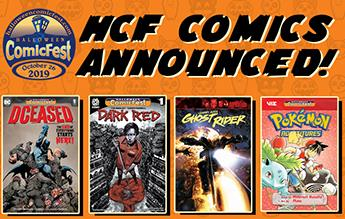 Home Page - Halloween Comic Fest