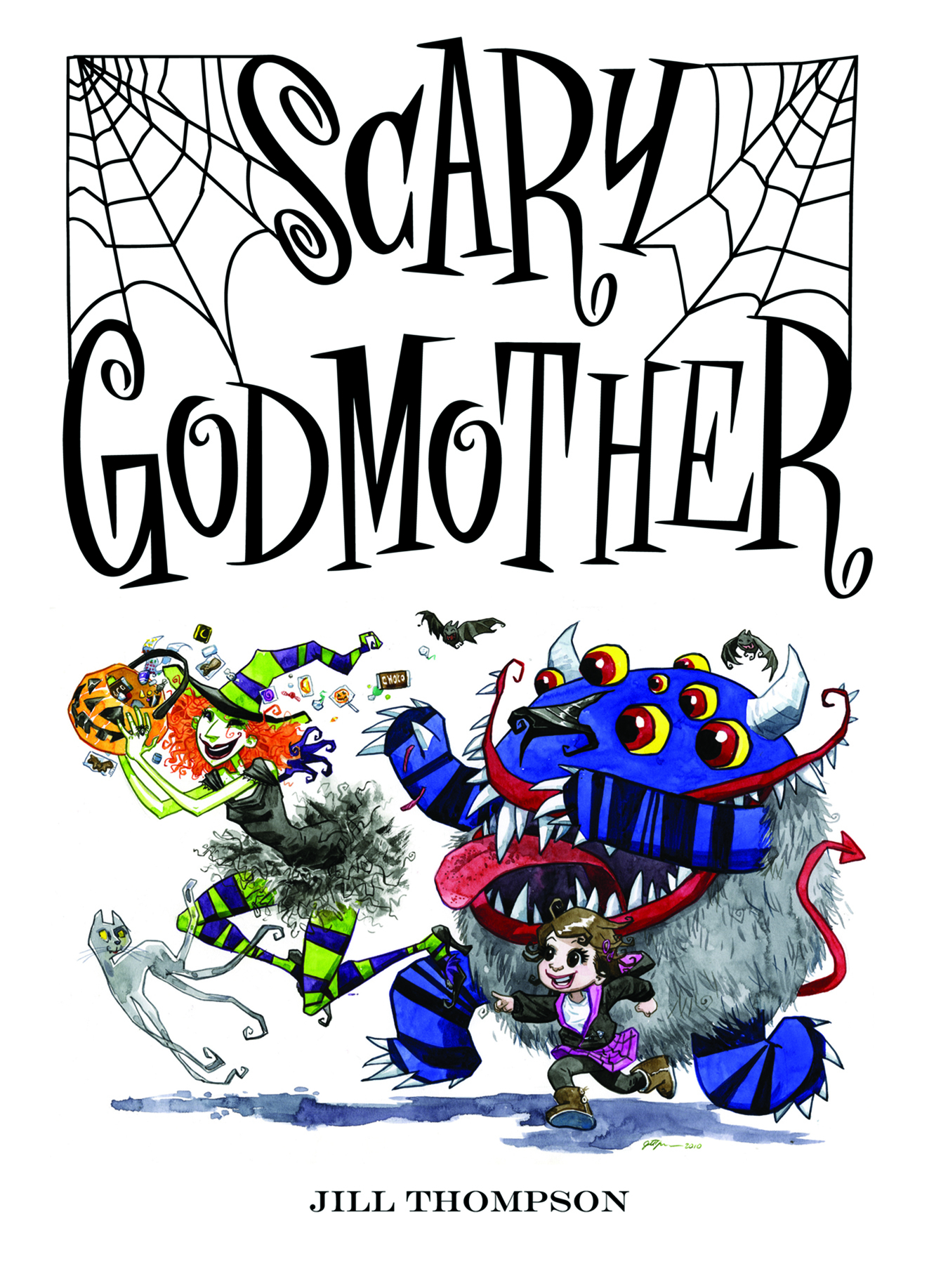 jun100051 scary godmother dark horse ed hc halloween comic fest