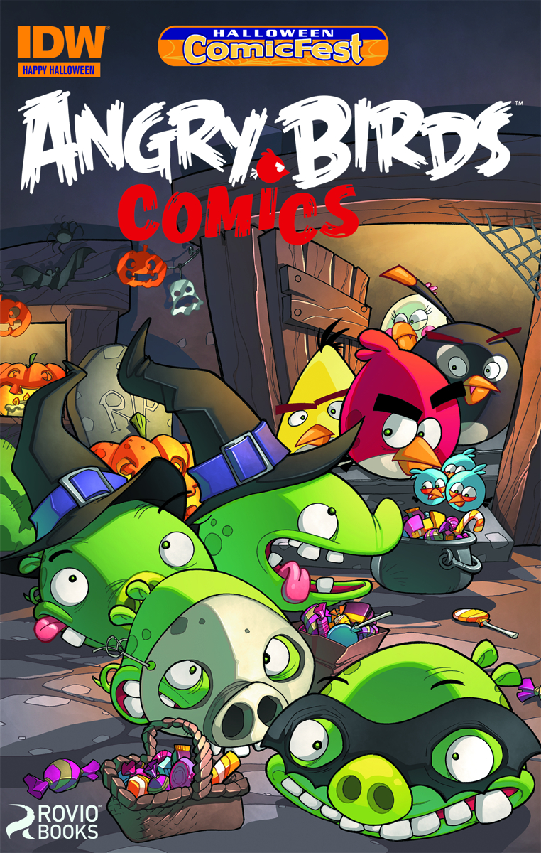 Jul140046 Hcf 2014 Angry Bird Comics Mini Comic Pack