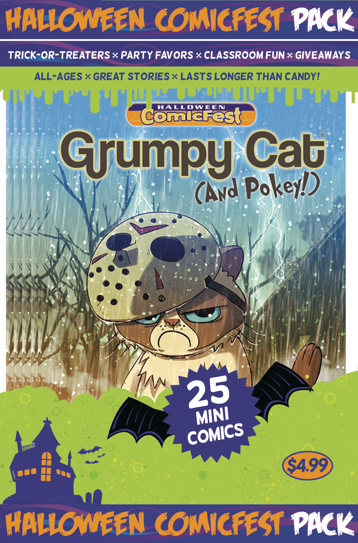 HCF 2016 GRUMPY CAT HALLOWEEN MINI COMIC POLYPACK