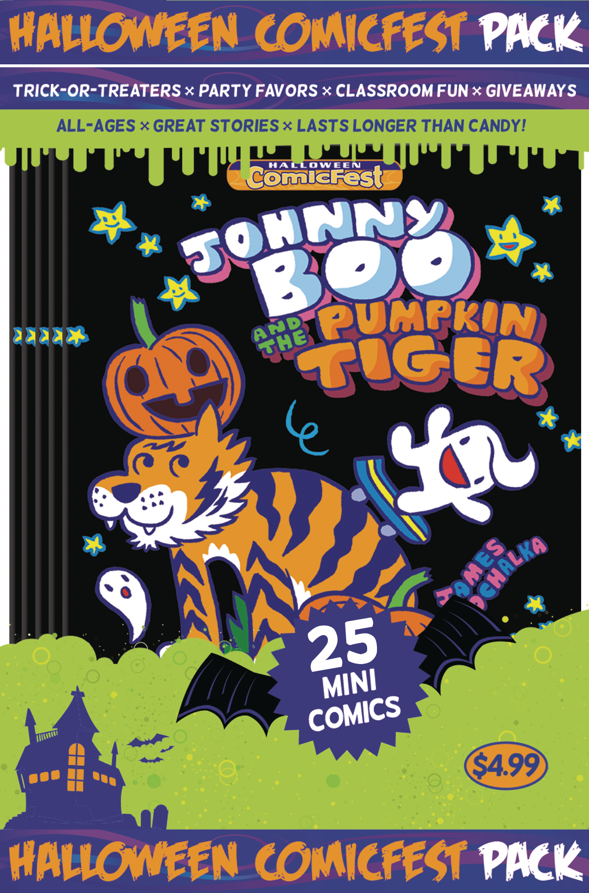 HCF 2016 JOHNNY BOO MINI COMIC POLYPACK