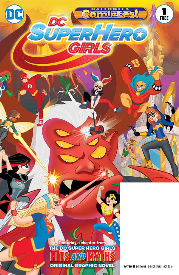 HCF 2016 DC SUPER HERO GIRLS #1