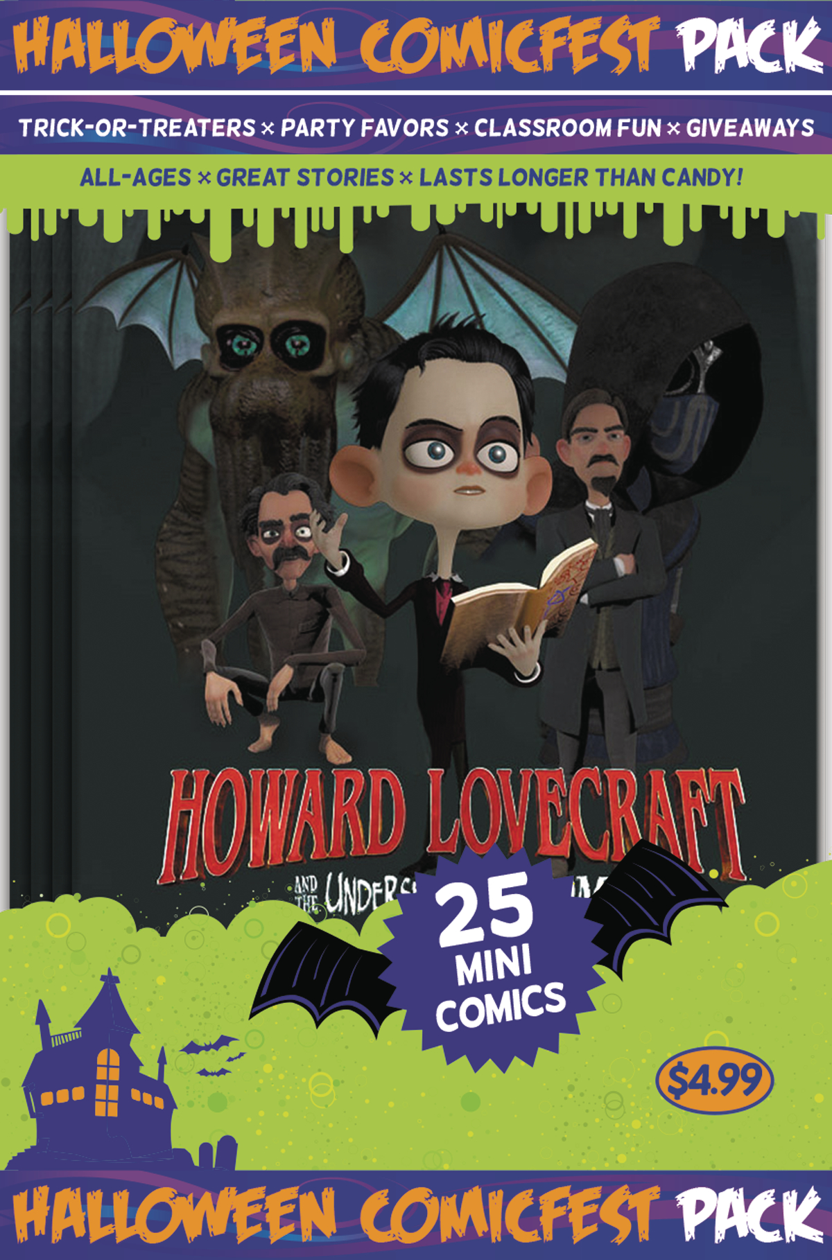 HCF 2017 LOVECRAFT UNDERSEA KINGDOM MINI COMIC POLYPACK