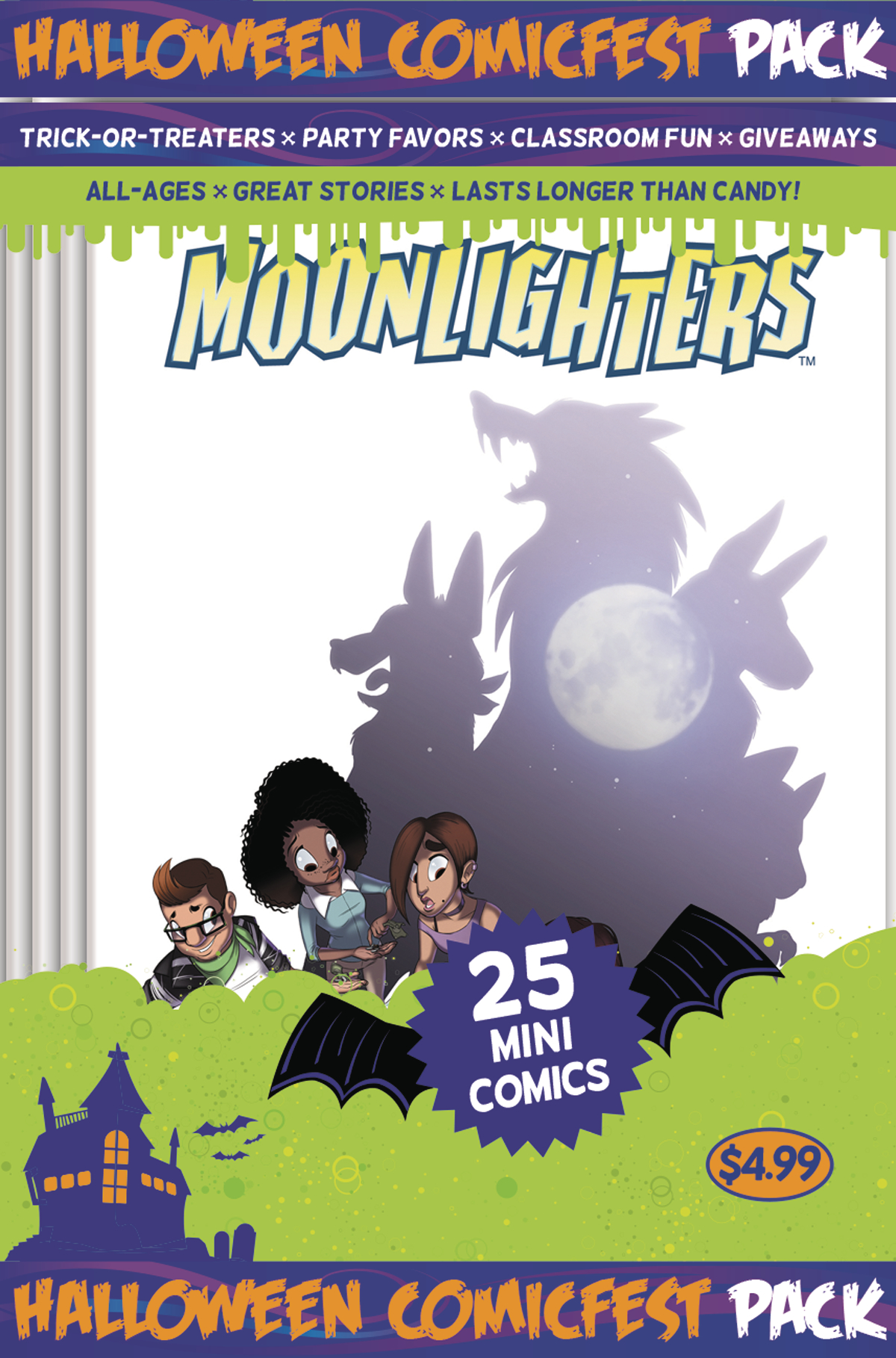 HCF 2017 MOONLIGHTERS MINI COMIC POLYPACK