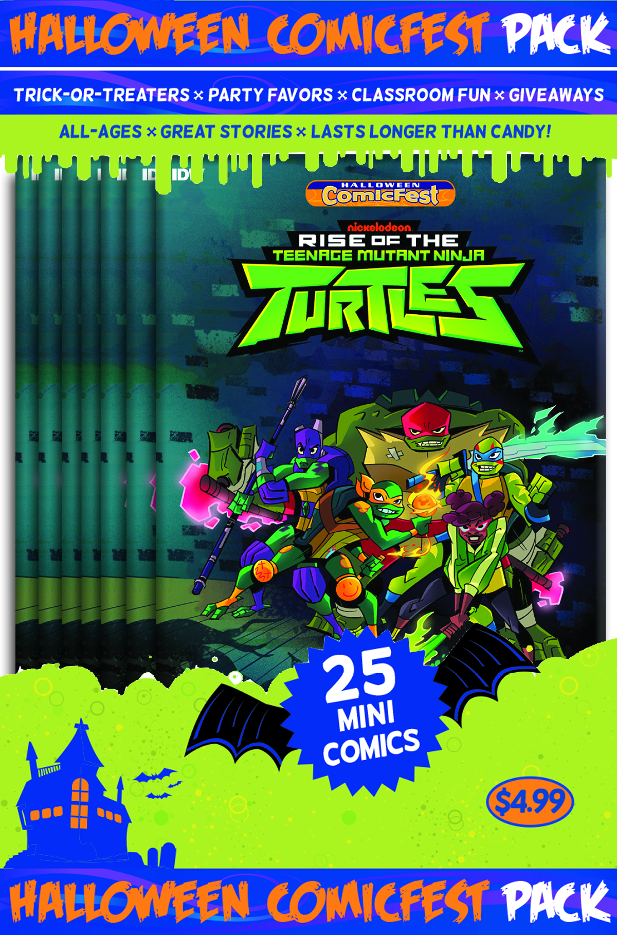 HCF 2018 TMNT RISE OF THE TMNT POLYPACK BUNDLE