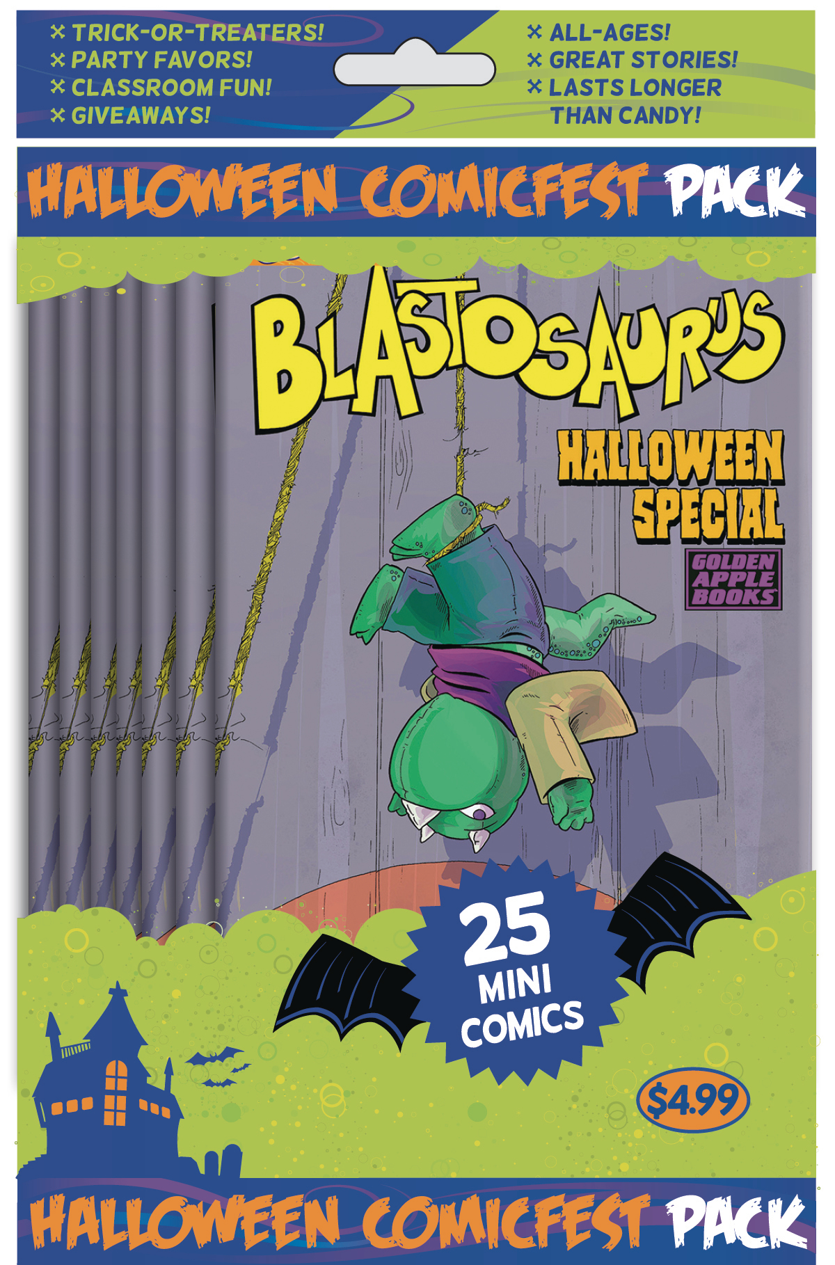 HCF 2019 BLASTOSAURUS MINI COMIC POLYPACK BUNDLE