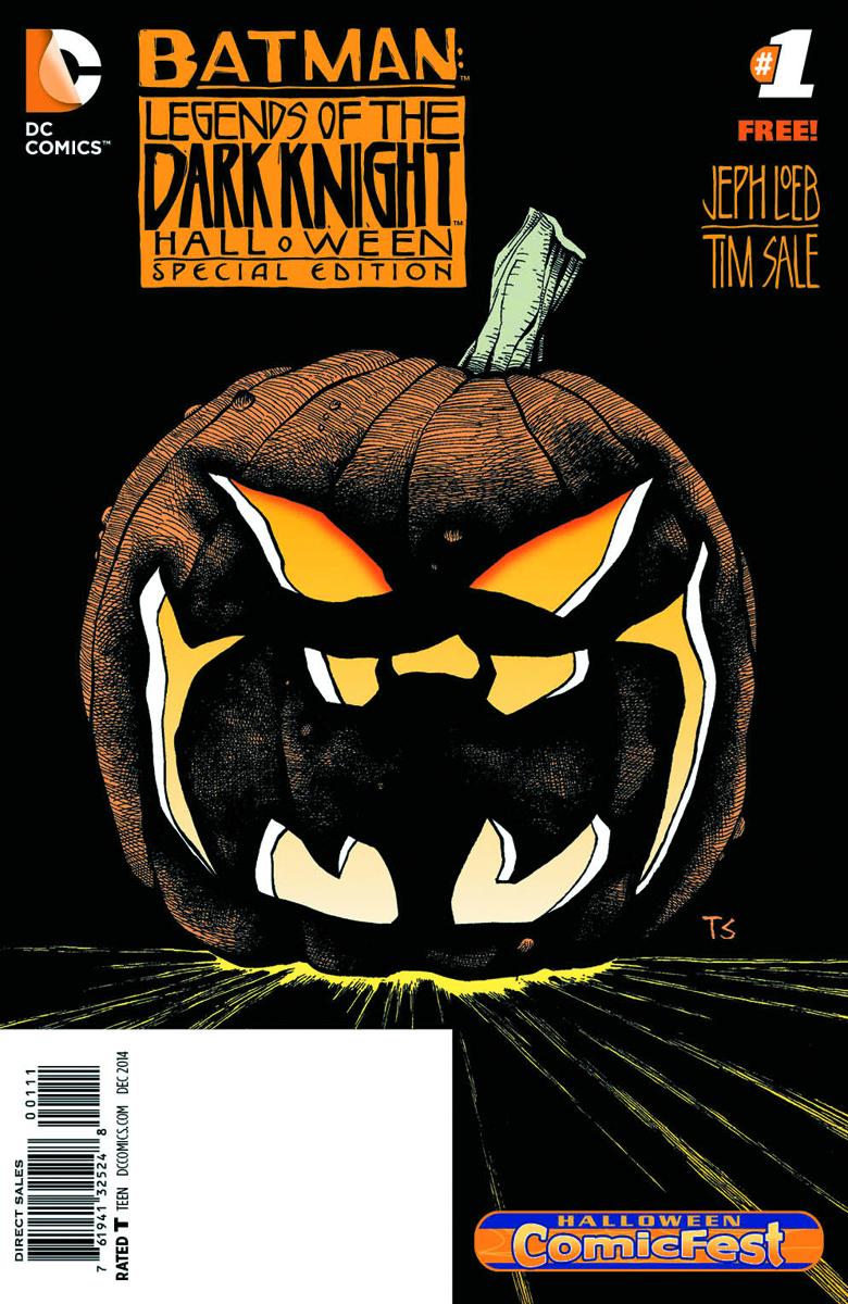 Legends Halloween Comic Fest 2020 JUL140031   HCF 2014 BATMAN LEGENDS DARK KNIGHT HALLOWEEN SPEC ED