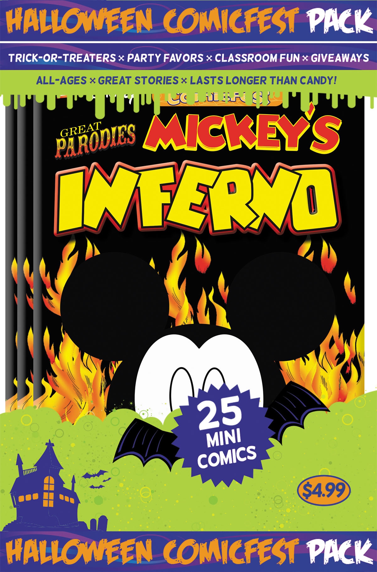 HCF 2016 MICKEYS INFERNO MINI COMIC POLYPACK