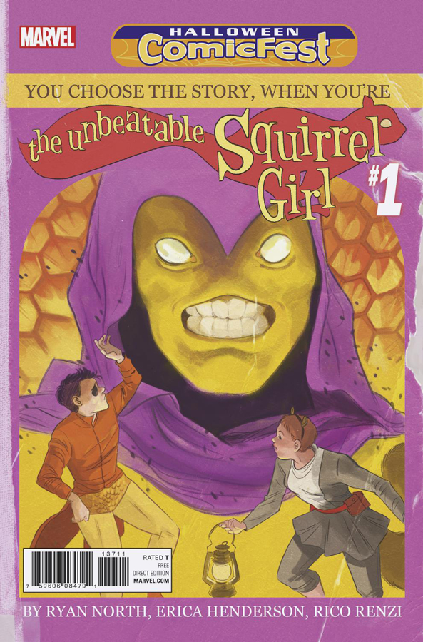 HCF 2016 UNBEATABLE SQUIRREL GIRL YOU CHOOSE STORY #1