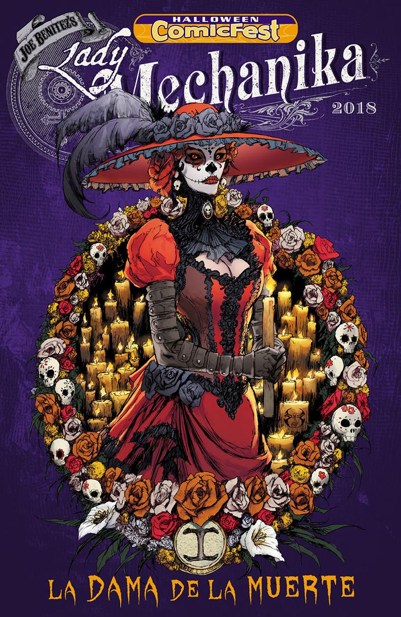 Halloween Comicfest 2020 Lady Mechanika JUL180025   HCF 2018 LADY MECHANIKA LA DAMA DE LA MUERTE #1