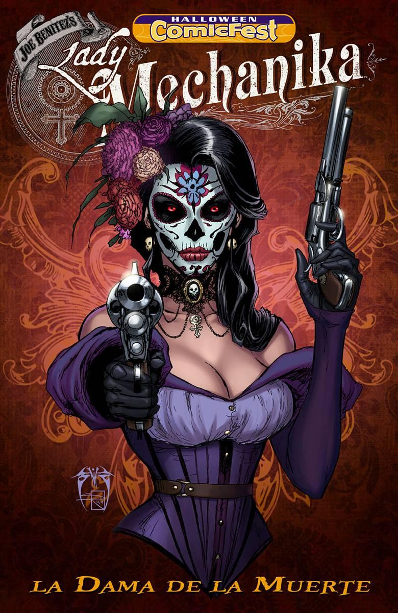 Halloween Comicfest 2020 Lady Mechanika JUL190021   HCF 2019 LADY MECHANIKA LA DAMA DE LA MUERTE