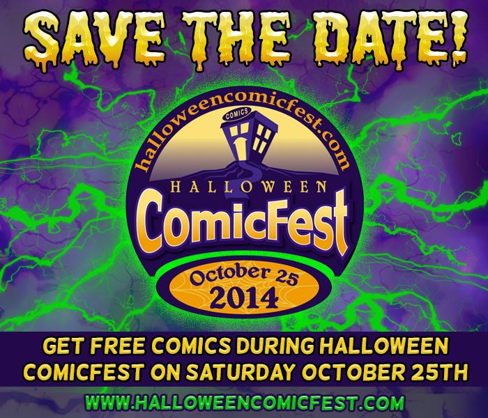 save the date comicfest 2014