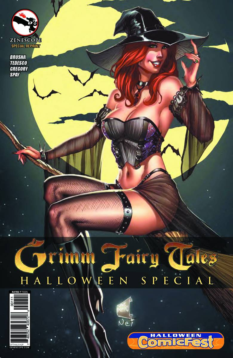 hcf interview with grimm fairy tales artist mike debalfo - halloween