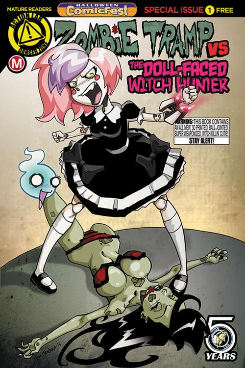3d comic mature