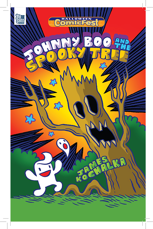 Halloween ComicFest, HCF, Johnny Boo, IDW