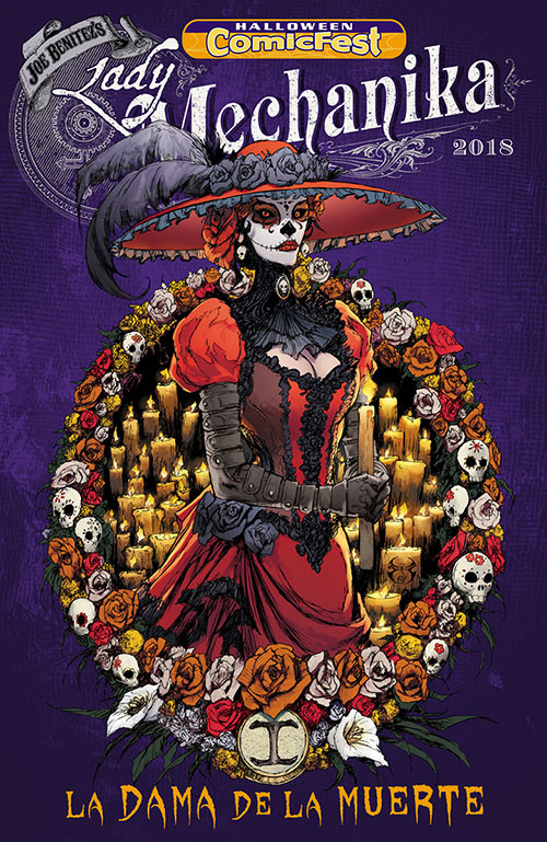 Halloween ComicFest, HCF, Lady Mechanika, Benitez