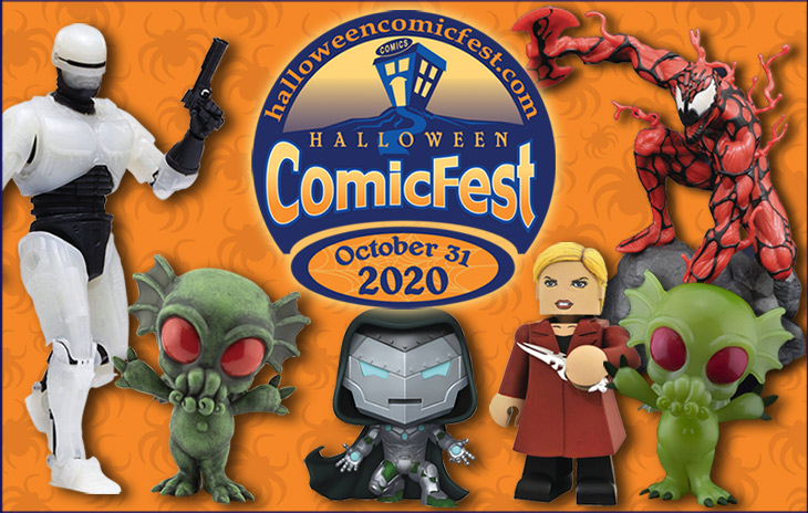 Dst Halloween Event 2020 Halloween ComicFest 2020 to Feature an Expanded Line of Exclusive